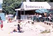 Boat shed cafe/bar by the beach